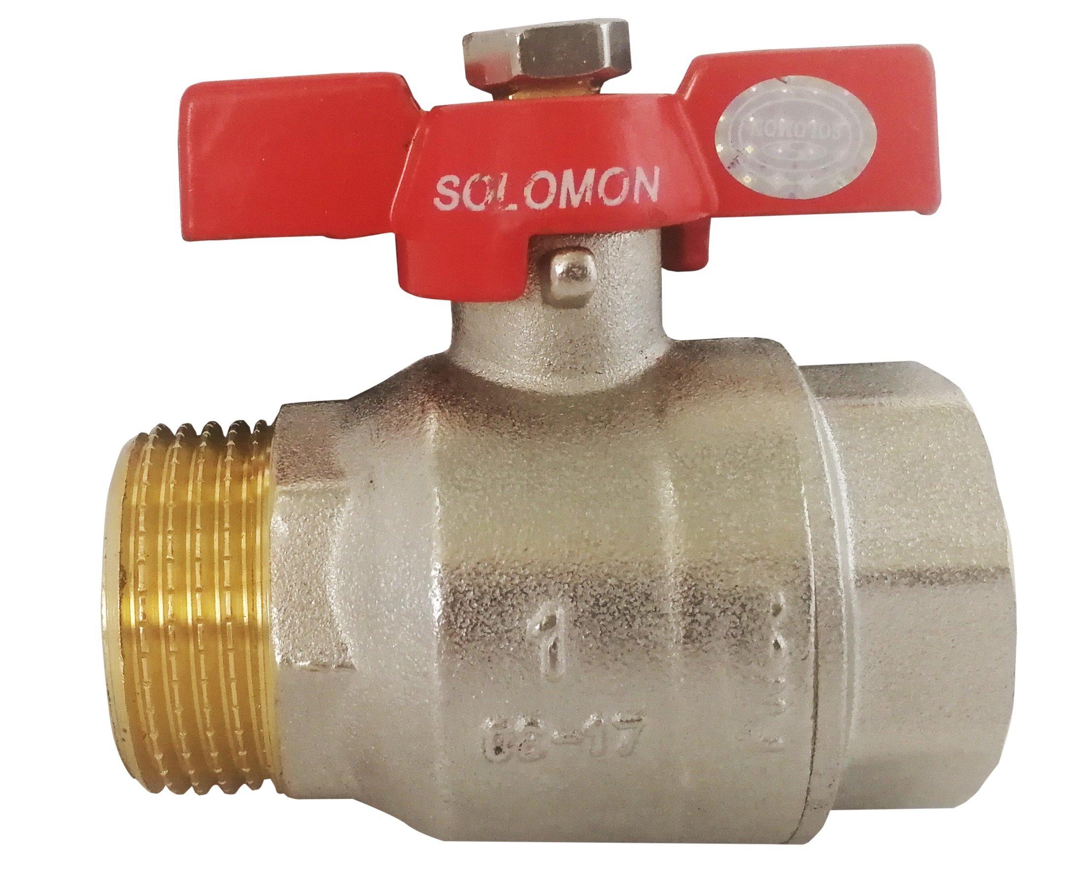 Кран шаровый Solomon B1015 КБ 1 2